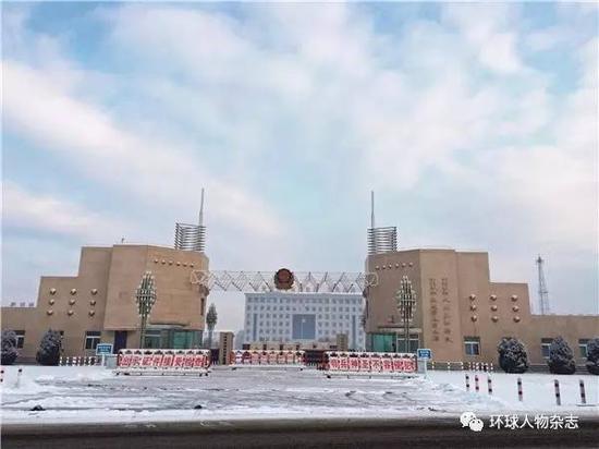 位于兴城的120师驻地。(本刊记者朱东君摄)