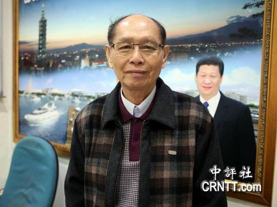 台湾旅游协会创会会长兼现任秘书长张景云(图片来源:中评社)