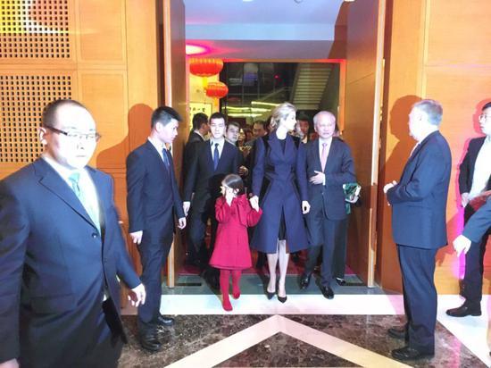 特朗普女儿伊万卡拜访中国大使馆庆祝中国新年|特朗 ...