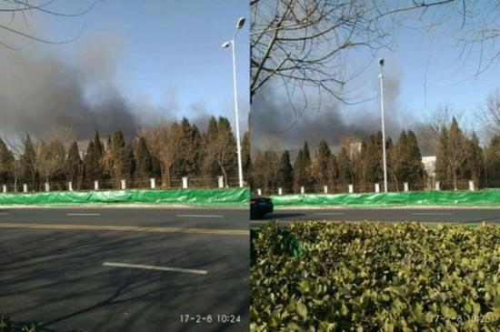 航拍三星天津工厂起火 为Note7电池主要供应商