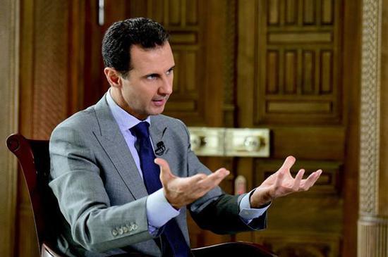 叙利亚总统:欧盟早就支持叙利亚恐怖分子