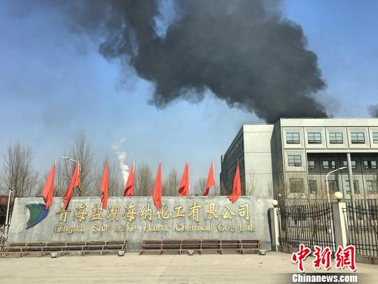 青海盐湖海纳化工有限公司西厂区。 胡贵龙 摄