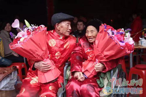 夏炳火和艾福�ㄒ煌�办100岁诞辰