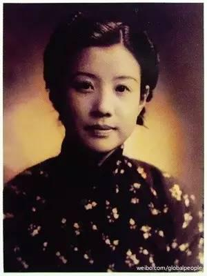 """黄慕兰曾被媒体誉为""""最美红色女特工""""。图片来自网络。"""