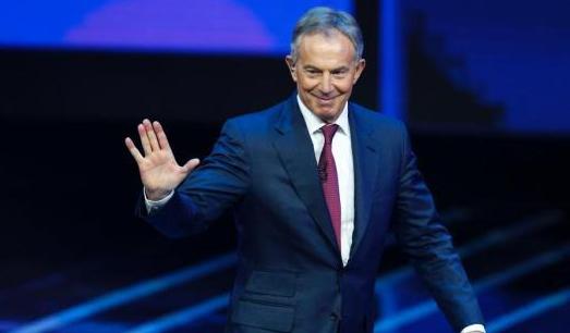 """前英国首相布莱尔:不惜代价反对""""脱欧"""""""
