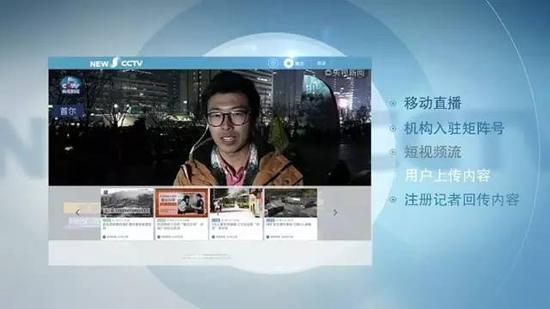 央视新闻移动网的上线,是央视把握新的发展机遇,以移动端交互直播为项目抓手,带动内容、技术、产品的一次全面进化。