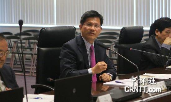 台中市长林佳龙。(图片来源:香港中评社)
