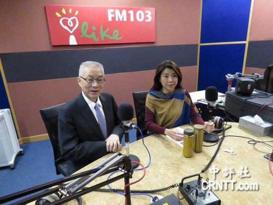 吴敦义:不排除参加2020年台湾地区领导人选举
