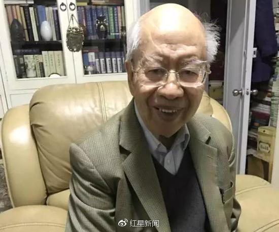 叶廷芳 图片来源:红星新闻