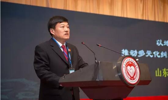 山东省高级人民法院副院长吴锦标
