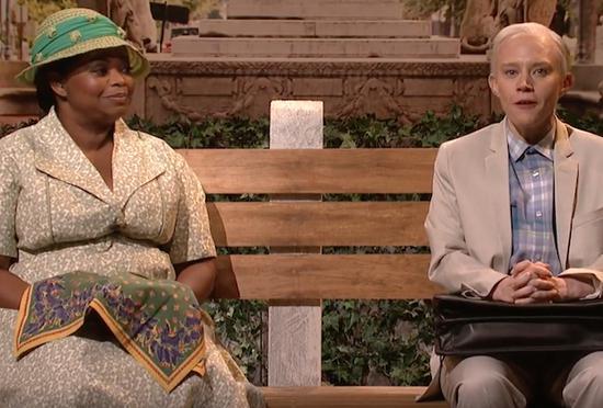 SNL翻拍《阿甘正传》 恶搞司法部长塞申斯