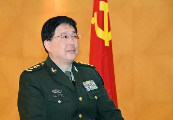 东部战区政委郑卫平上将。