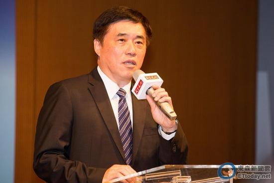 """国民党副主席郝龙斌(图片来源:""""东森新闻云"""")"""