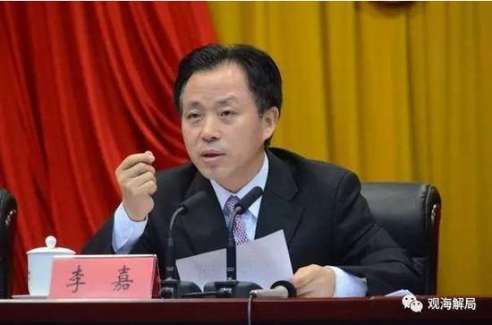广东省委原常委李嘉