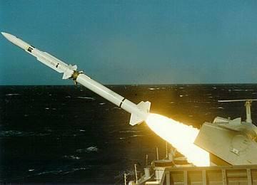 资料图:标准2型导弹发射