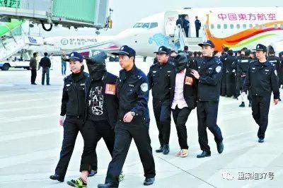 ▲去年1月,300名涉嫌电信网络诈骗的嫌疑人从境外被押解回国。 资料图片