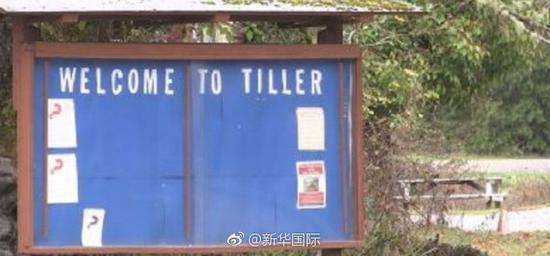 美国蒂勒镇