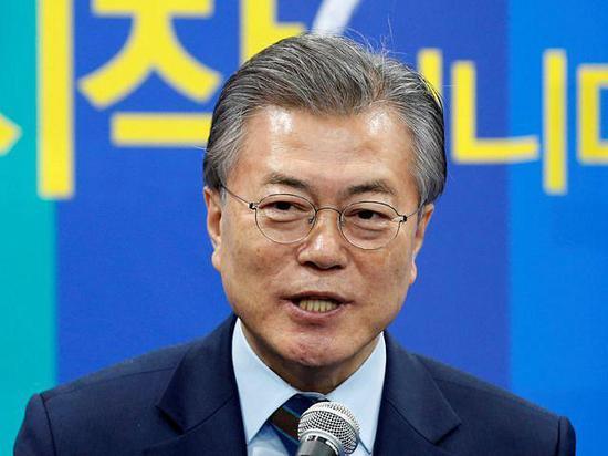 韓國在野黨共同民主黨前黨首文在寅。