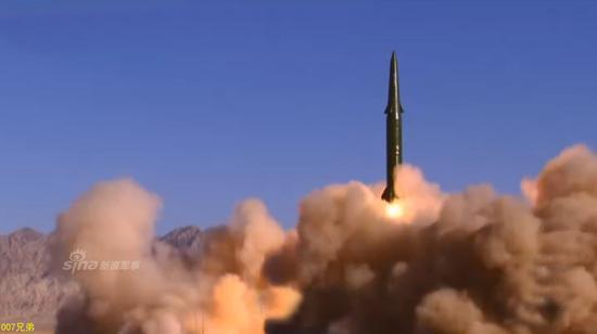 东风-16导弹。资料图