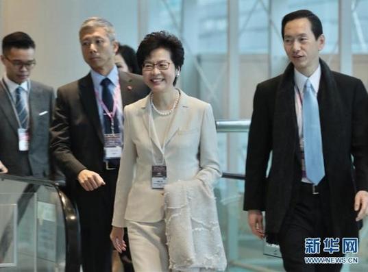 梁振英:已向中央人民政府提交选举结果报告
