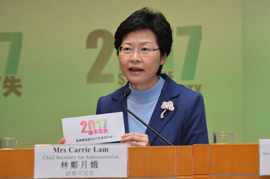 林郑月娥获777票!香港特区第五任行政长官!