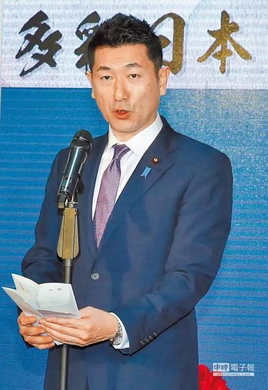 日本政府总务副大臣赤间二郎25日来台。