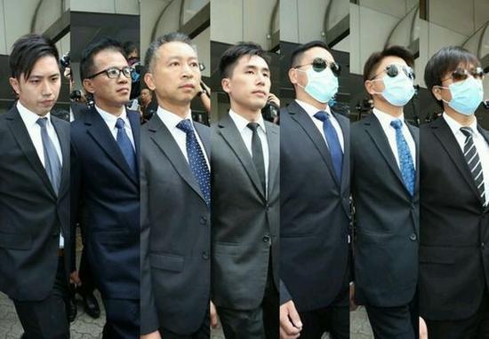 """袭击""""占中""""人士7名警员获刑两年(资料图)"""