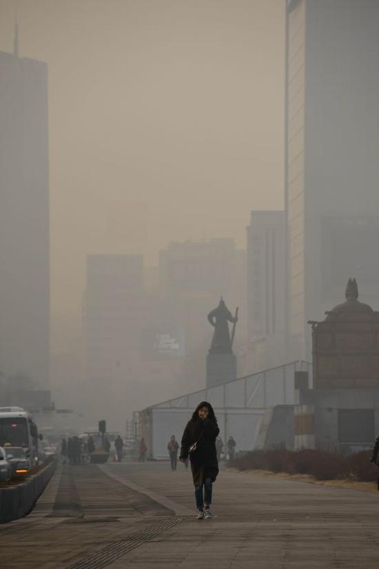 韩国加入空气污染最严重国家行列