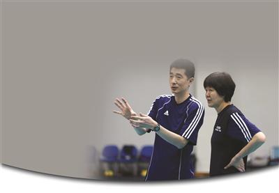安家杰任国家女排执行教练,郎平则出任总教练。