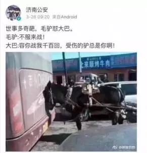 国新办原主任批济南公安济南公安疑似怼网友微博截图
