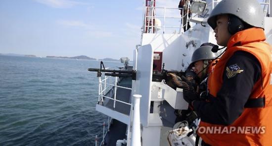韩海警成立警备团打击中国渔船:效仿当年李舜臣