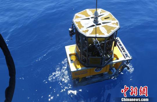 烟台打捞局3000米级水下机器人是国家重点投资装备。 陈朋 摄
