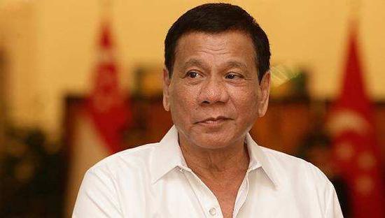 菲律宾总统 杜特尔特 资料图