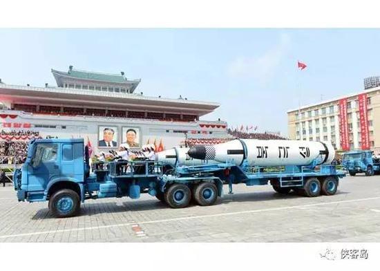 """""""北极星-1""""型潜射弹道导弹"""