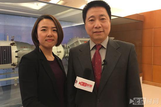 (北京时间记者独家专访杨利伟将军)