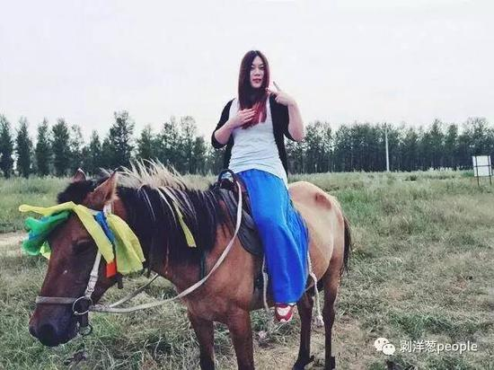 西单女孩近照。图片来自网络