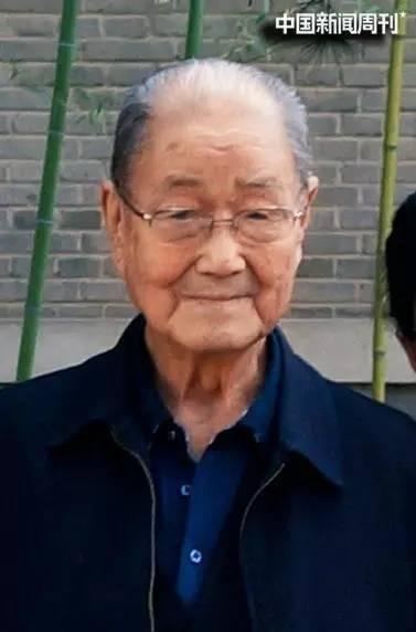 98岁时的宋平。图 受访者供给