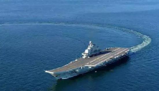 ▲中国航母辽宁舰