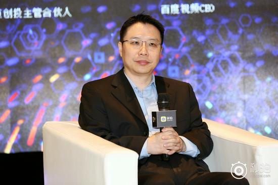 图为百度视频CEO胡浩