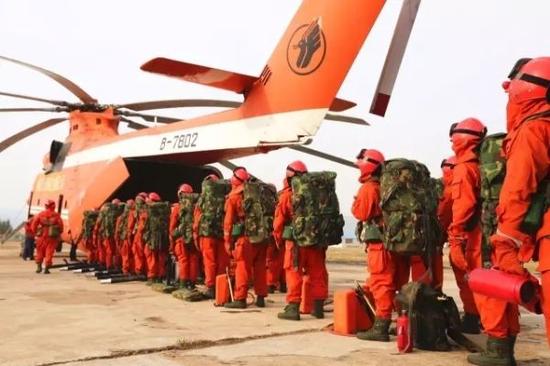 大兴安岭火灾完成空中撤离 单次载140人创记录