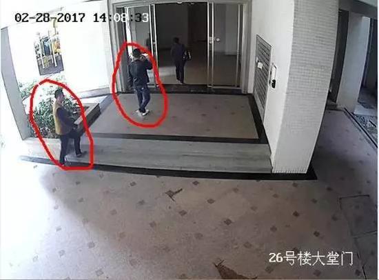 (犯罪嫌疑人在监控底下如此大摇大摆进去盗窃)