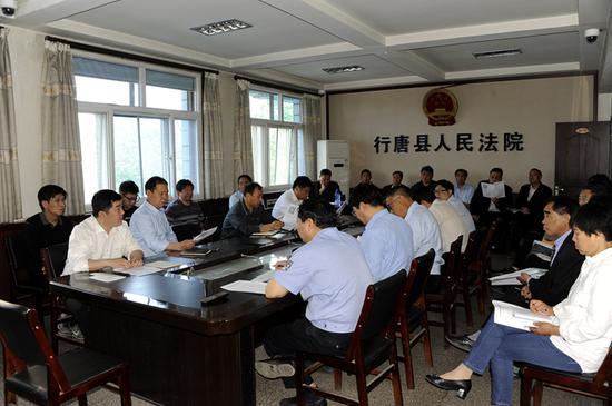 5月12日该院召开中层以上会议,进行阶段性小结。