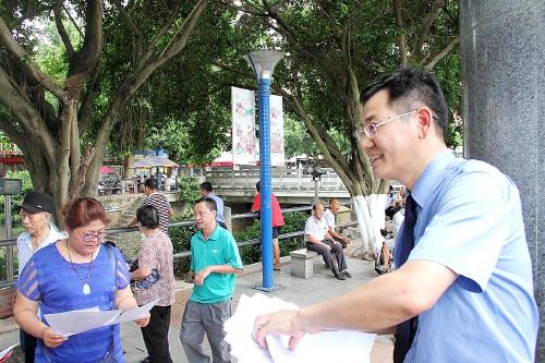 广西壮族自治区人民检察院控申处副处长黄景定