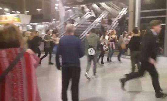 英国曼彻斯特体育场发生爆炸