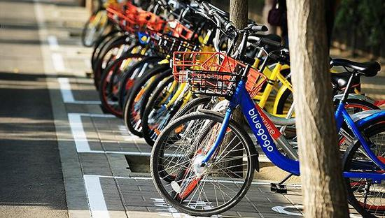 共享单车 资料图