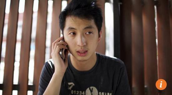 ▲此前因携带防弹衣被指控的香港记者关学津 图据《南华早报》