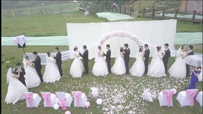高校43人毕业班15对情侣集体婚礼? 真相惊人