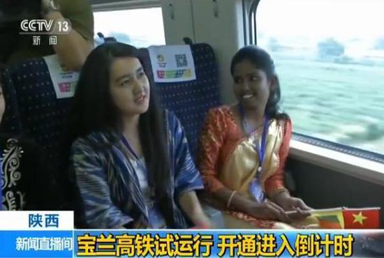 宝兰高铁开始按图行车试验7月上旬正式开通
