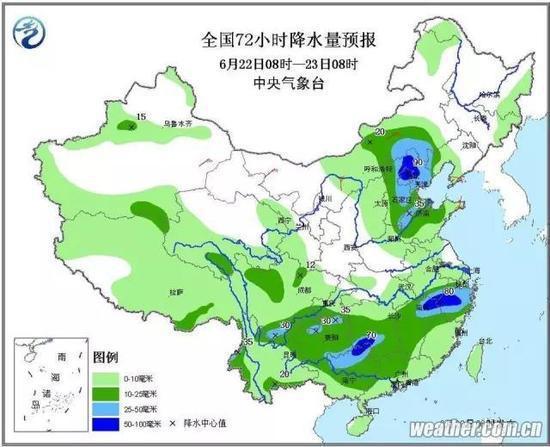 气象专家:蒙古低涡掀起华北入汛来最强降雨