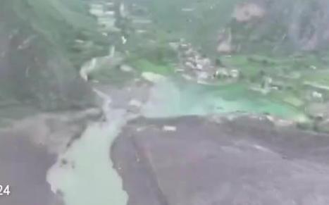 茂县山体垮塌救援72小时